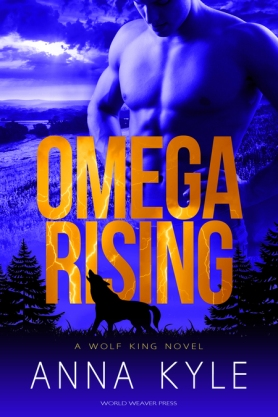 Cover - Omega Rising by Anna Kyle